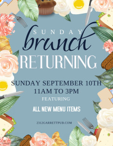 Brunch Returns