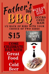 Copy of Fathers Day BBQ - Made with PosterMyWall