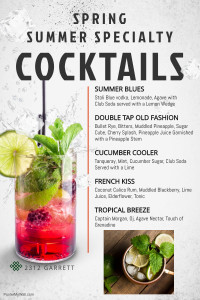 Copy of Refreshing Cocktails Menu Template - Made with PosterMyWall (3)